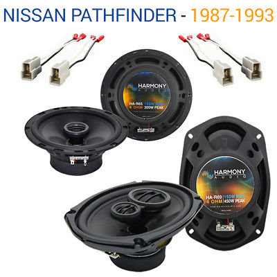 For Car Fits Nissan Pathfinder 1987-1993 OEM Speaker Upgrade Harmony R65 R69 Package