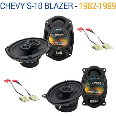 For Car Chevy S-10 Blazer 1982-1989 OEM Speaker Upgrade Harmony R46 R69 Package