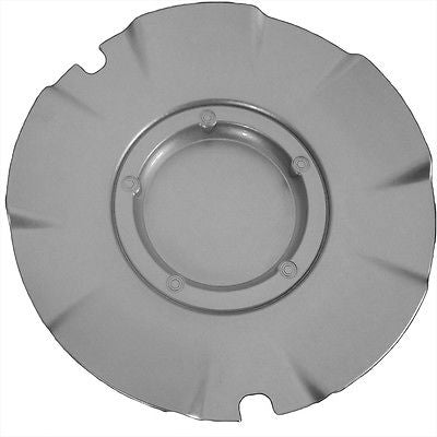 Car Accessories 1 Piece Chevy Silverado SS 20'' Silver Center Caps Wheels Pop In Skin Hub Cover