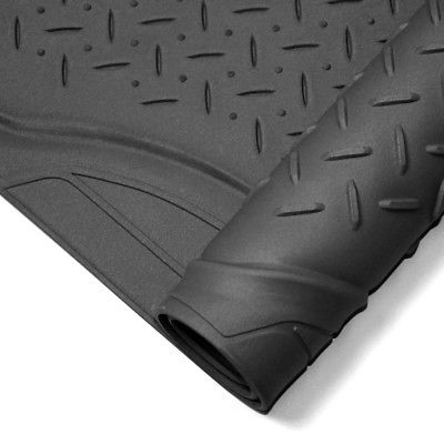 Car Accessories 4pc Full All Weather Heavy Duty Rubber Black SUV Floor Mat Trunk Cargo Liner 3A