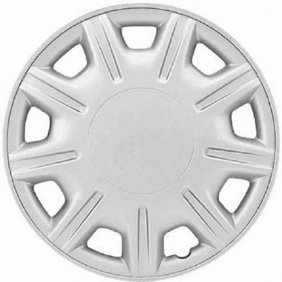 "Car Accessories 1 Piece of 15"" Silver Hub Caps Full Lug Skin Rim Cover for OEM Steel Wheel D"