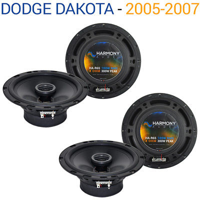 For Car Dodge Dakota 2005-2007 Factory Speaker Replacement Harmony (2) R65 Package