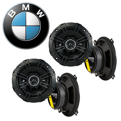 For Car Fits BMW 320i 1977-1989 Factory Speaker Replacement Kicker (2) DSC5 Coax Package