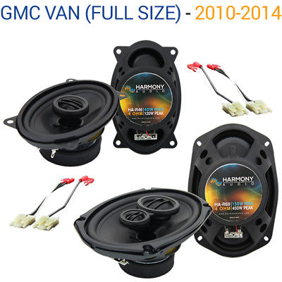 For Car GMC Van (Full Size) 2010-2014 OEM Speaker Upgrade Harmony R46 R69 Package