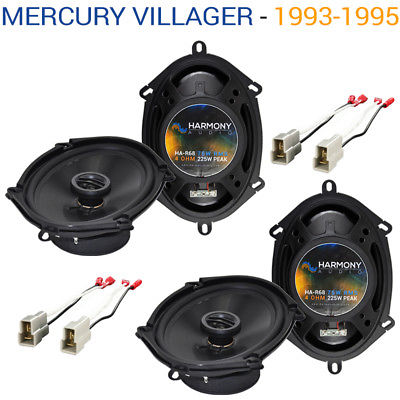 For Car Mercury Villager 1993-1995 Factory Speaker Replacement Harmony (2) R68 Package