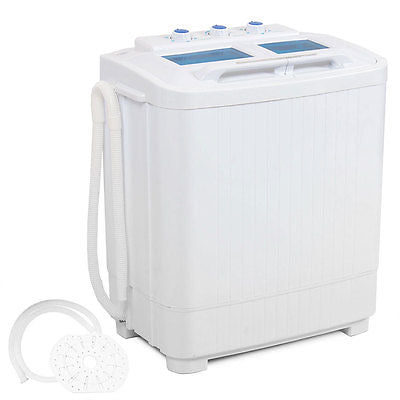 Portable mini small rv dorms Compact 8 - 9lb Washing Machines Spin Dryer Laundry