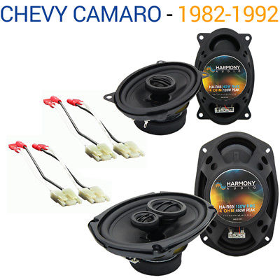 For Car Chevy Camaro 1982-1992 Factory Speaker Upgrade Harmony R46 R69 Package