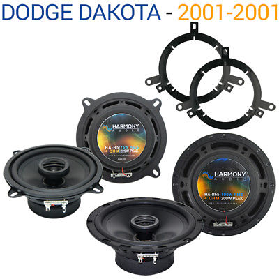 For Car Dodge Dakota 2001-2001 Factory Speaker Upgrade Harmony R65 R5 Package