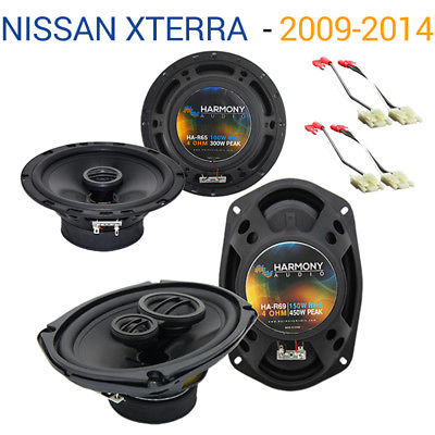 For Car Fits Nissan Xterra 2009-2014 Factory Speaker Upgrade Harmony R65 R69 Package