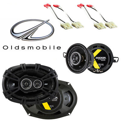 For Car Fits Oldsmobile Ninety-Eight 1988-1993 Factory Speaker Upgrade Kicker DS Package