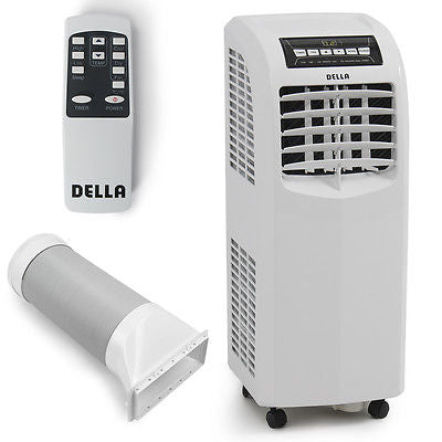 8,000 BTU Portable Air Conditioner Dehumidifier Cooling A/C Unit Function Remote