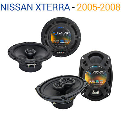For Car Fits Nissan Xterra 2005-2008 Factory Speaker Upgrade Harmony R65 R69 Package
