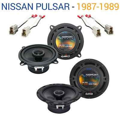 For Car Nissan Pulsar 1987-1990 Factory Speaker Upgrade Harmony R65 R5 Package