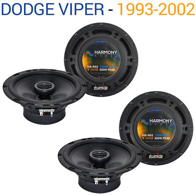 For Car Dodge Viper 1993-2002 Factory Speaker Replacement Harmony (2) R65 Package