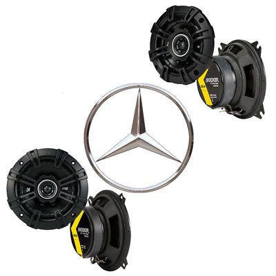 For Car Fits Mercedes 380/300 Series 81-96 Speaker Replacement Kicker DSC4 DSC5 Package
