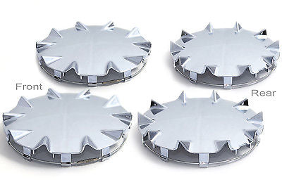 Car Accessories 4 Pc Set Chevy SSR Center Caps Steel Wheels Alloy Rims Pop In Hub Cover
