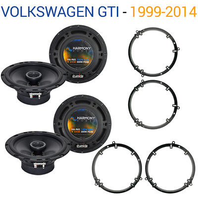 For Car Volkswagen GTI 1999-2014 Factory Speaker Upgrade Harmony (2) R65 Package