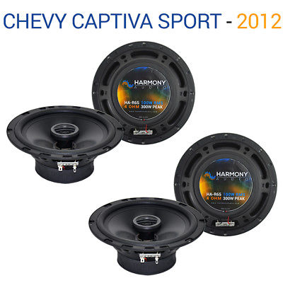 For Car Chevy Captiva Sport 12-15 Factory Speaker Upgrade Harmony (2) R65 Package
