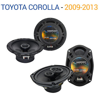 For Car Toyota Corolla 2009-2013 Factory Speaker Upgrade Harmony R65 R69 Package
