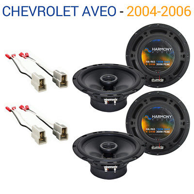 For Car Chevy Aveo 2004-2006 Factory Speaker Replacement Harmony (2) R65 Package