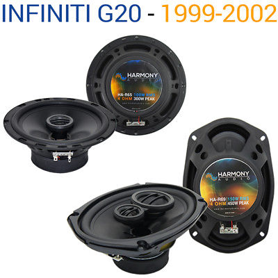 For Car Fits Infiniti G20 1999-2002 Factory Speaker Replacement Harmony R65 R69 Package