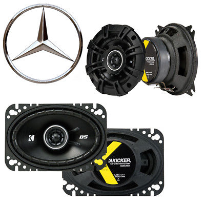 For Car Fits Mercedes 560 Series 1986-1993 Speaker Replacement Kicker DSC4 DSC46 Package
