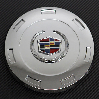 Car Accessories 1 Piece Chrome Center Caps For Steel Wheels or Alloy Rims Pop In Skin Hub Cover