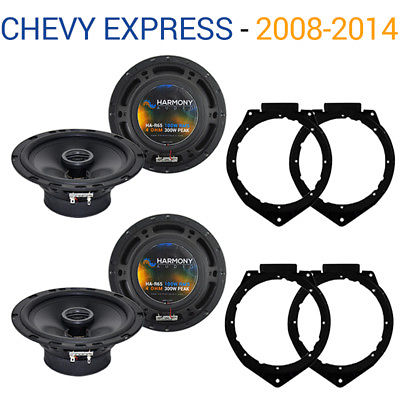 For Car Chevy Express 2008-2017 Factory Speaker Replacement Harmony (2) R65 Package
