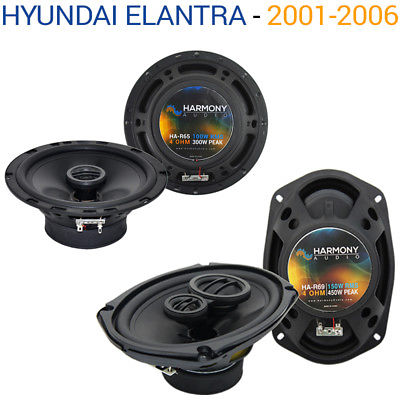 For Car Fits Hyundai Elantra 2001-2006 OEM Speaker Replacement Harmony R65 R69 Package