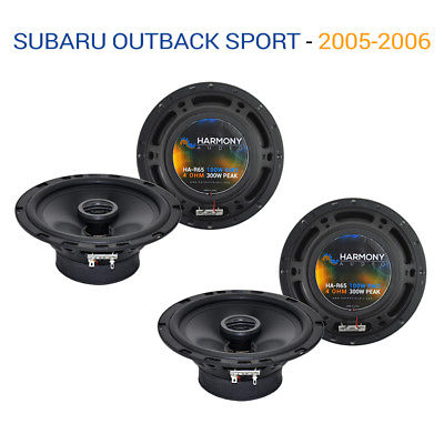 For Car Subaru Outback Sport 2005-2006 OEM Speaker Upgrade Harmony (2) R65 Package