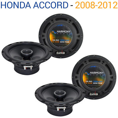 For Car Honda Accord 2008-2012 Factory Speaker Replacement Harmony (2) R65 Package