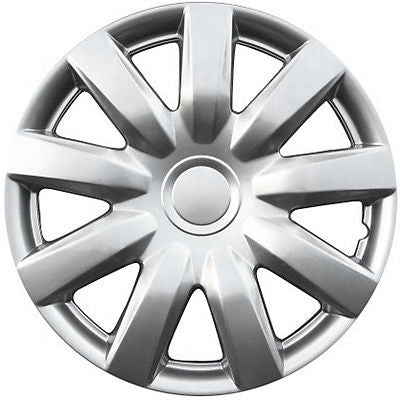 "Car Accessories 1 Piece Set A/M Silver ABS Fits 1999 2006 2015 Volkswagen 15"" Auto Wheel Hub Cap"