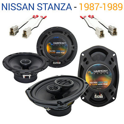 For Car Fits Nissan Stanza 1987-1989 Factory Speaker Upgrade Harmony R65 R69 Package