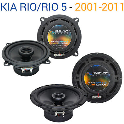 For Car Fits Kia Rio / Rio 5 2001-2011 Factory Speaker Replacement Harmony R65 R5 Kit