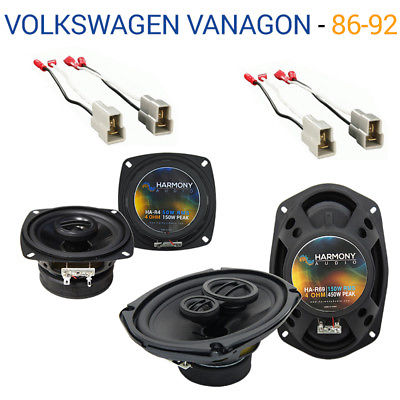 For Car Volkswagen Vanagon 1986-1992 OEM Speaker Upgrade Harmony R4 R69 Package