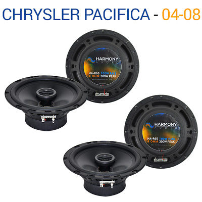 For Car Chrysler Pacifica 2004-2017 Factory Speaker Upgrade Harmony (2) R65 Package