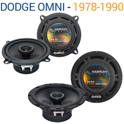 For Car Dodge Omni 1978-1990 Factory Speaker Replacement Harmony R5 R65 Package