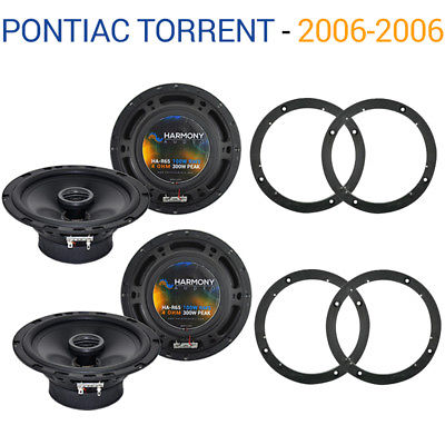 For Car Pontiac Torrent 2006-2006 Factory Speaker Upgrade Harmony (2) R65 Package