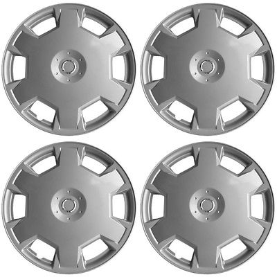 "Car Accessories 4pc Hub Caps 15"" fit Wheel NISSAN Cube 2009 2010 / Versa 2007 2008 2009 2010"
