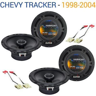 For Car Chevy Tracker 1998-2004 Factory Speaker Replacement Harmony (2) R65 Package