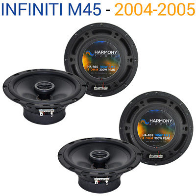 For Car Fits Infiniti M45 2004-2005 Factory Speaker Replacement Harmony (2) R65 Package