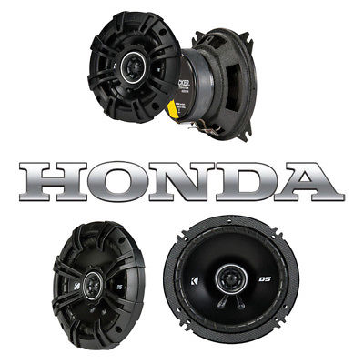 For Car Fits Honda CRX 1984-1985 Factory Speaker Replacement Kicker DSC4 DSC65 Package