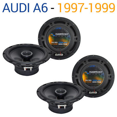 For Car Audi A6 1997-1999 Factory Speaker Replacement Harmony (2) R65 Coax Package