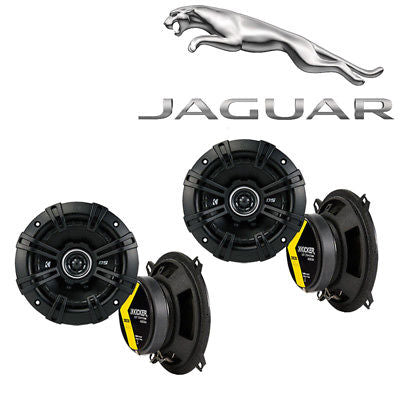 For Car Fits Jaguar XJ 1986-1993 Speaker Replacement Kicker DS Series (2) DSC5 Package