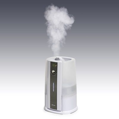 8L Ultrasonic Humidifier Large Capacity Whisper-Quiet Operation Cool & Warm Mist