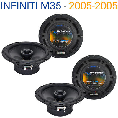 For Car Fits Infiniti M35 2005-2005 Factory Speaker Replacement Harmony (2) R65 Package