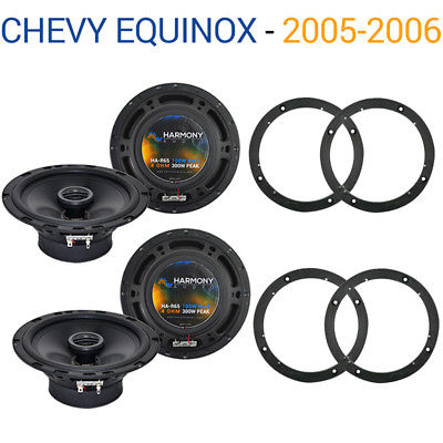For Car Chevy Equinox 2005-2006 Factory Speaker Replacement Harmony (2) R65 Package