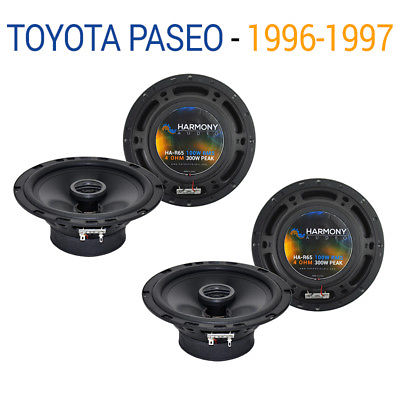 For Car Toyota Paseo 1996-1997 Factory Speaker Replacement Harmony (2) R65 Package