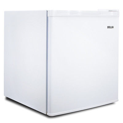 1.1 cu ft Upright Compact Freezer White Energy Saving Home Office Kitchen Room