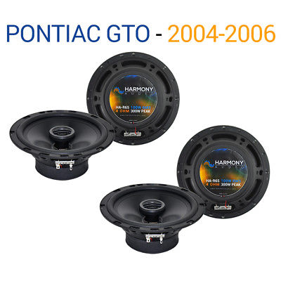 For Car Pontiac GTO 2004-2006 Factory Speaker Replacement Harmony (2) R65 Package